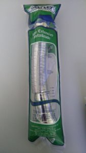 Tubo extensivo metalizado Delflex
